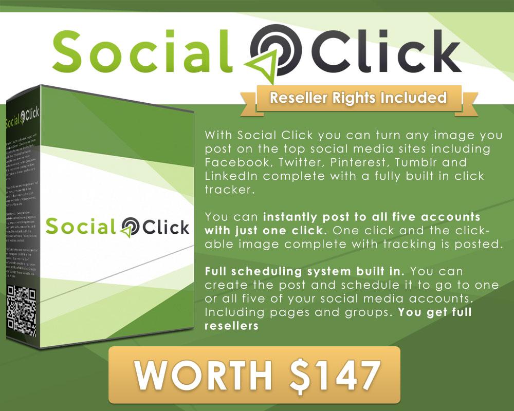 Social Click - Bonus for Viddictive