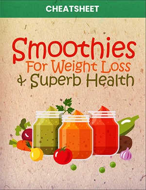 Smoothies for weight loss and superb health Cheatsheeet