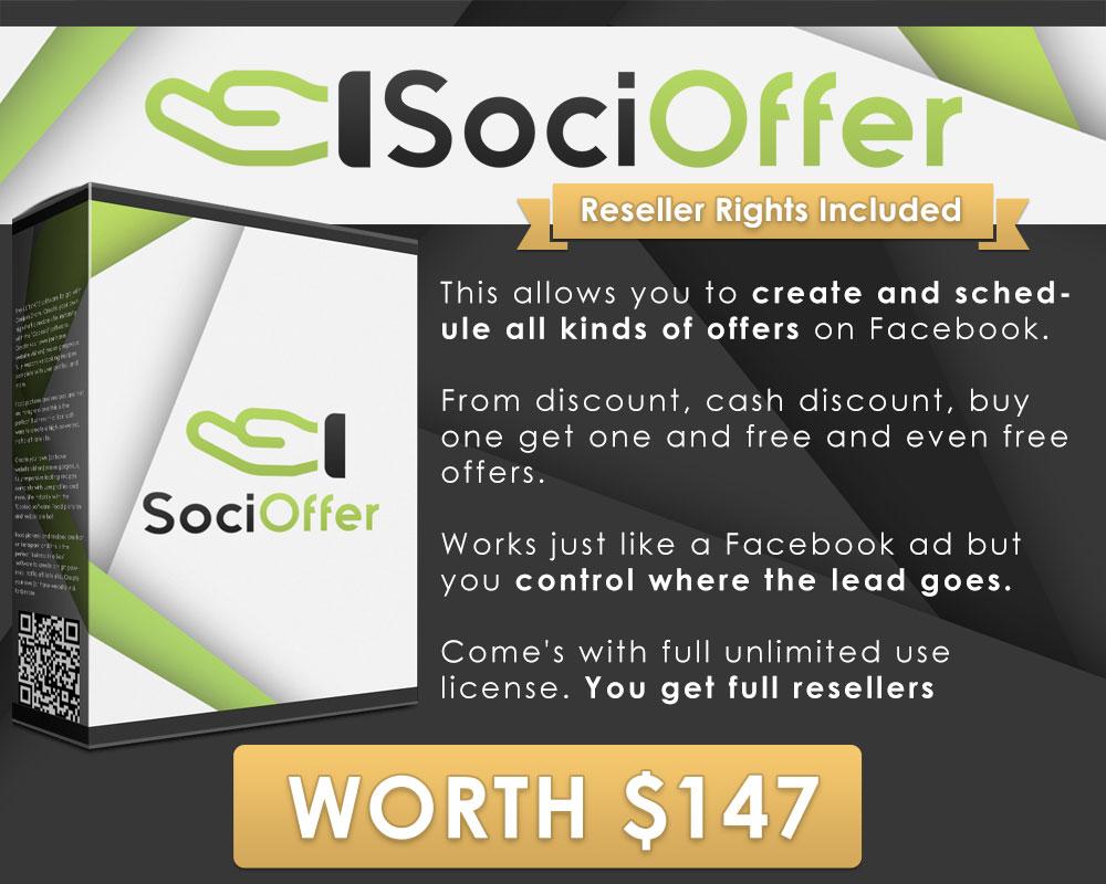 Sqribble Bonus #5 - SociOffer