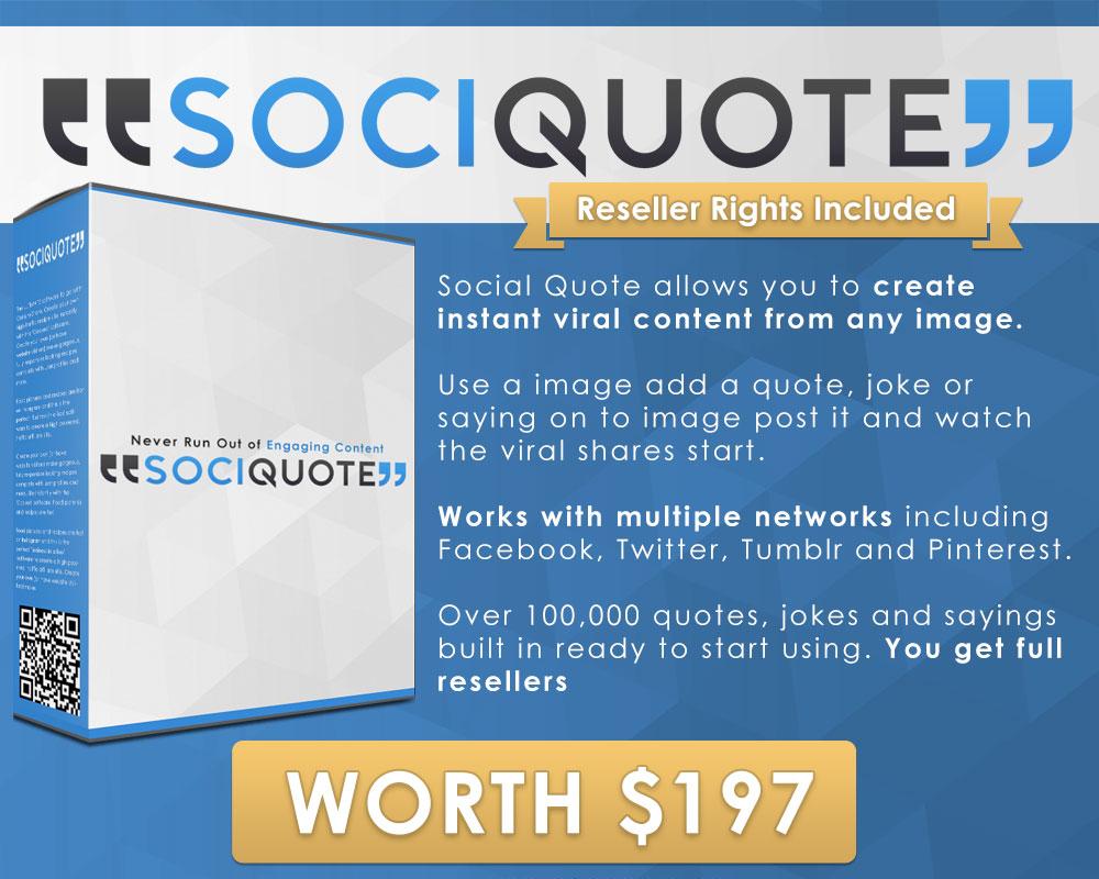 Sqribble Bonus #4 - SociQuote