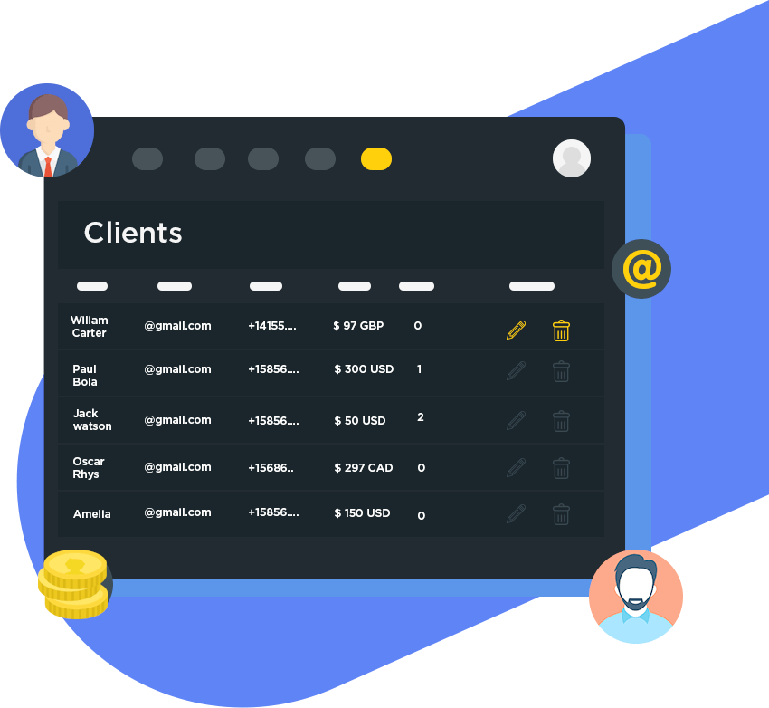 Sqribble Bonus #10 - Client Dashboard