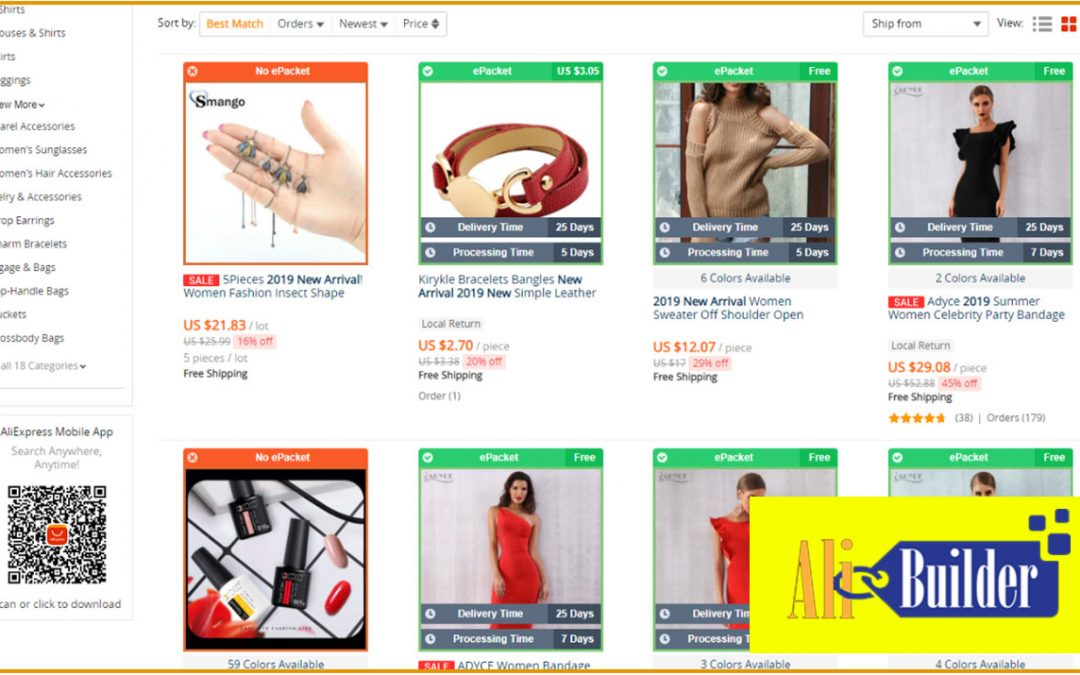 AliBuilder – AliExpress Dropshiping WordPress Plugin Review
