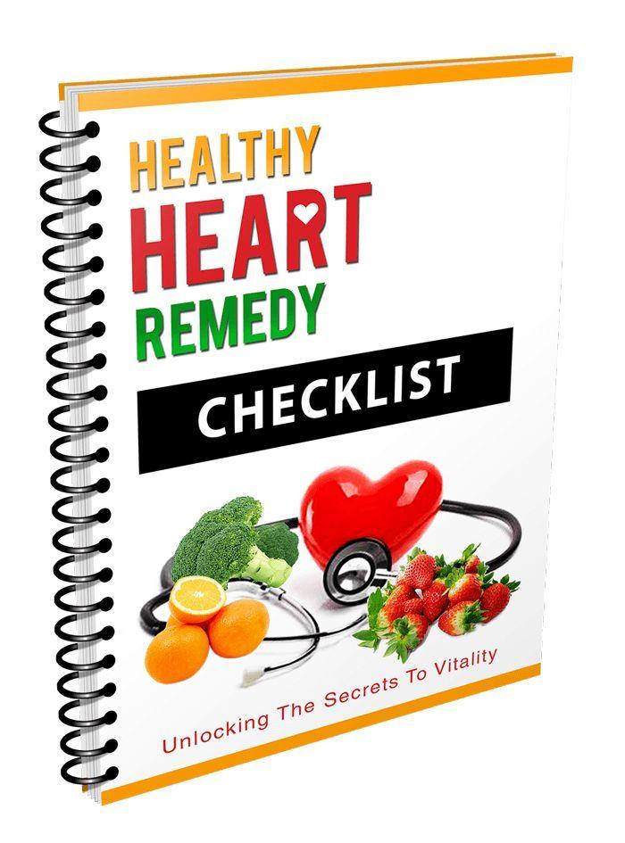 Heathy Heart Remedy Checklist