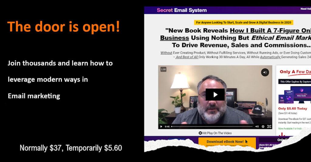 Secret Email System by Matt Bacak
