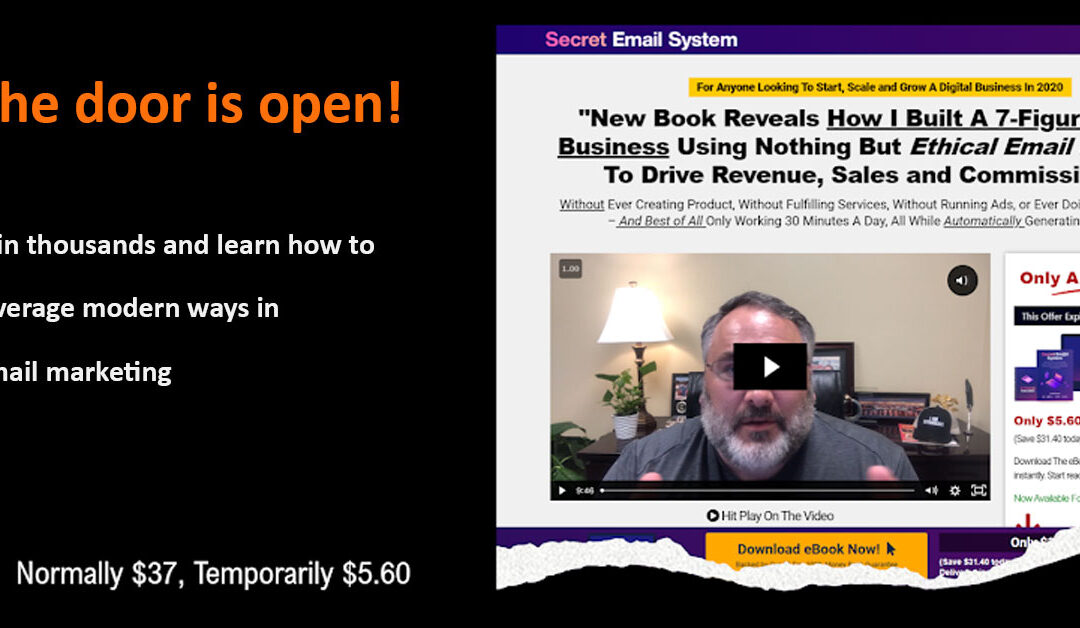 Secret Email System – How to do Email Marketing