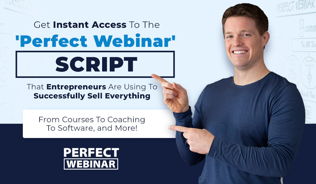 Clickfunnels Black Friday offer: Perfect Webinar Script