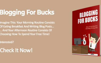 How To Find Paid Blog Writing Jobs – Blogging For Bucks
