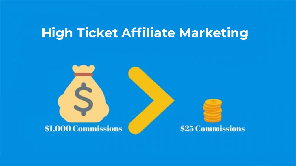 High Ticker Affiliate Marketing