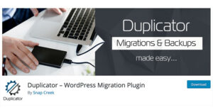 Best free WordPress plugins: Duplicator