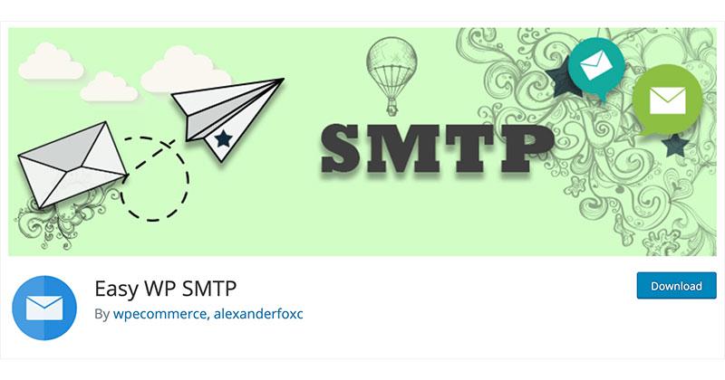 Best free WordPress plugins: Easy WP SMTP