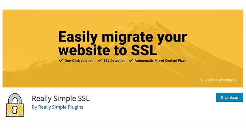 Best free WordPress plugins: Really Simple SSL