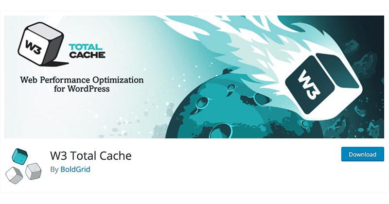 Best free WordPress plugins: W3 Total Cache