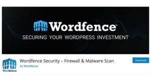 Best free WordPress plugins: WordFence