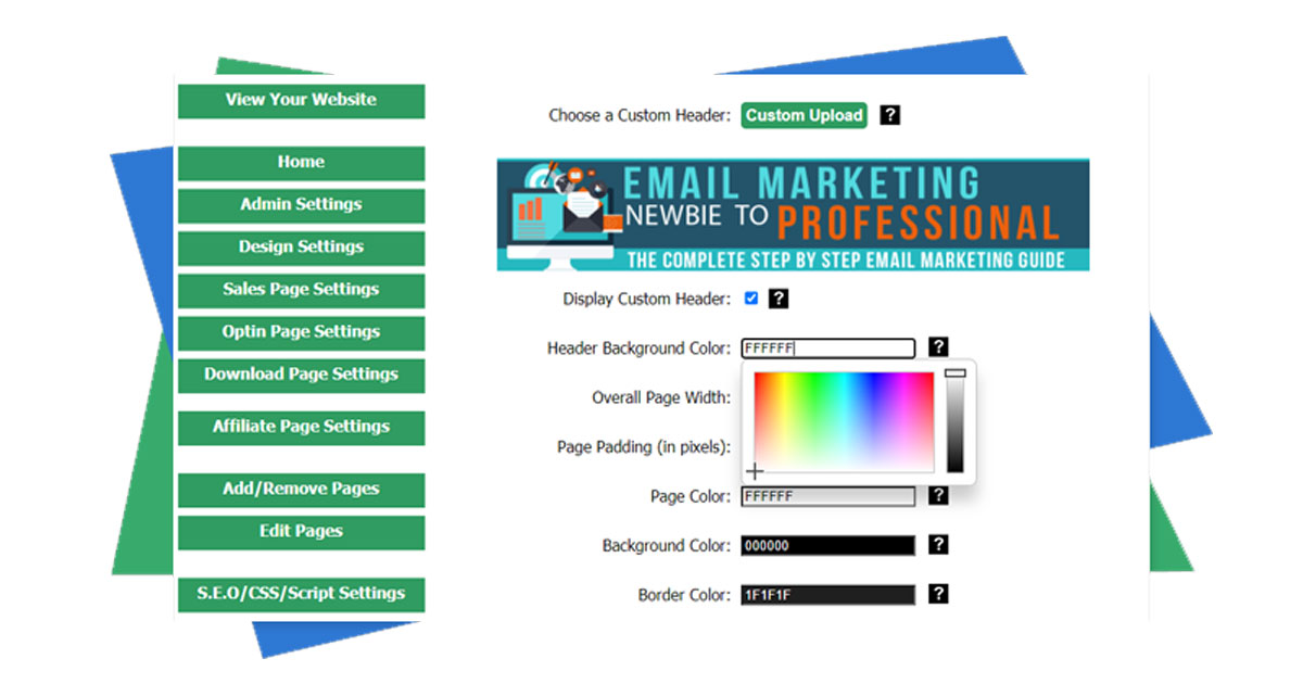 Easy Page Buildr – Building websites in minutes