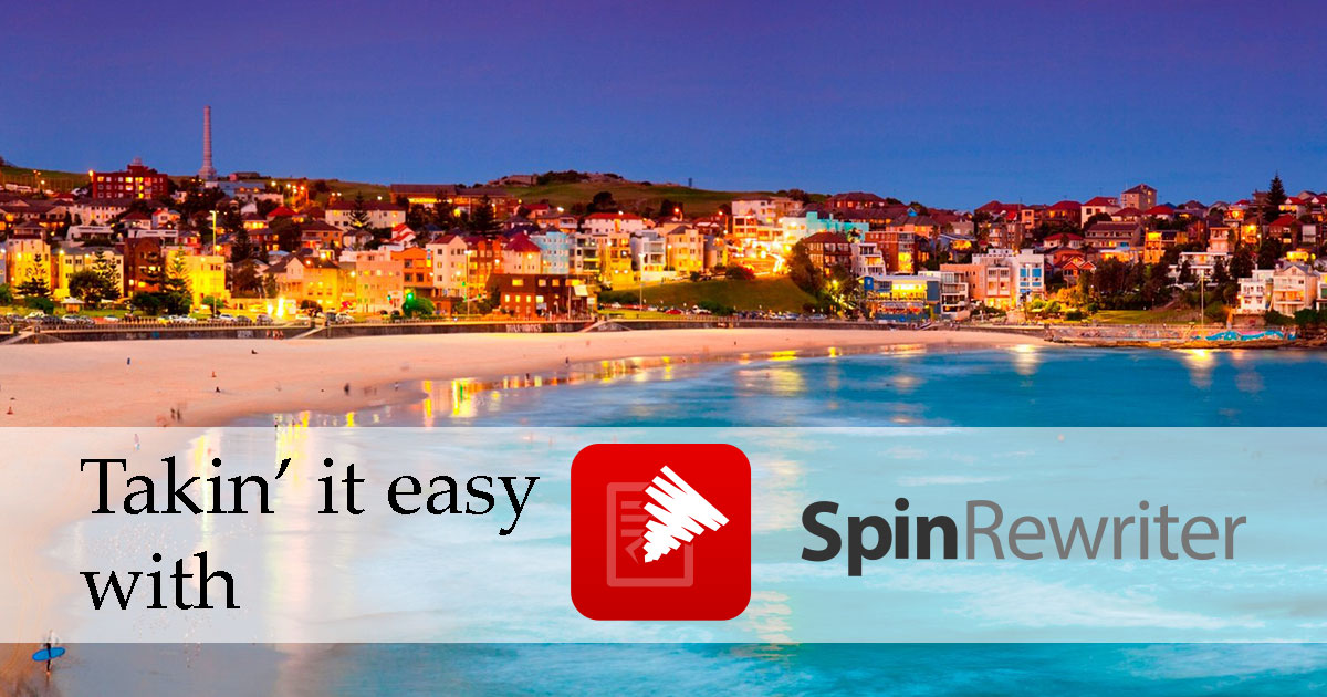 The best spinning software – Spin Rewriter short review